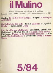 Copertina del fascicolo dell'articolo Karl Popper e lo scienziato samurai