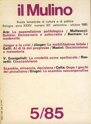Copertina del fascicolo dell'articolo La mobilitazione totale