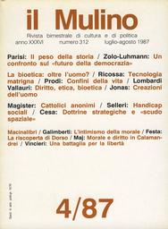 Copertina del fascicolo dell'articolo Dialettica della morale e politiche del diritto