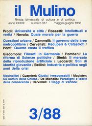 Copertina del fascicolo dell'articolo Quanto costa il traffico. Problemi di tecnologia e di gestione per i trasporti urbani