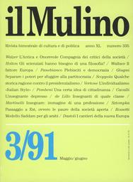 Copertina del fascicolo dell'articolo I cantieri della nuova Europa
