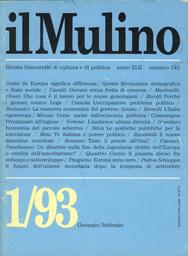Copertina del fascicolo dell'articolo Politica senza fede: l'estremismo di centro dei piccoli leghisti