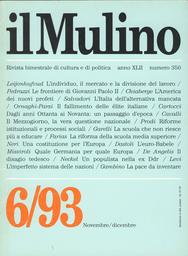 Copertina del fascicolo dell'articolo L'élite fallita e la democrazia sostituita dai partiti