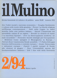 Copertina del fascicolo dell'articolo I partiti europei di fronte alle elezioni di giugno