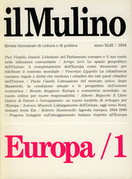 Cover del fascicolo: Europa