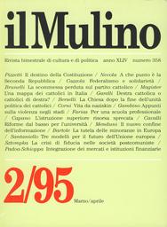 Copertina del fascicolo dell'articolo Le mura cadute. Una mappa dei cattolici in Italia