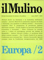 Copertina del fascicolo dell'articolo La Germania e la leadership dell'Unione Europea