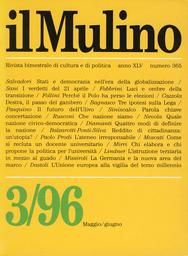 Copertina del fascicolo dell'articolo Quale nazione civico-democratica?