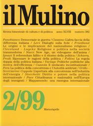 Copertina del fascicolo dell'articolo Cittadinanza e nazionalità nell'Europa degli immigrati