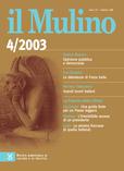 cover del fascicolo, Fascicolo arretrato n.4/2003 (luglio-agosto)