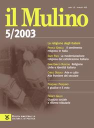 Copertina del fascicolo dell'articolo Conclave italiano, conclave globale