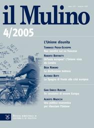 Copertina del fascicolo dell'articolo La politica italiana per la riforma dell'Onu