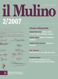 Copertina del fascicolo dell'articolo Lavoro intellettuale e scontro di civiltà