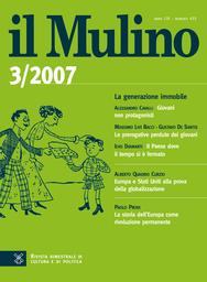 Copertina del fascicolo dell'articolo La storia dell'Europa come rivoluzione permanente
