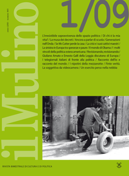 Copertina del fascicolo dell'articolo I telegiornali italiani di fronte alla politica