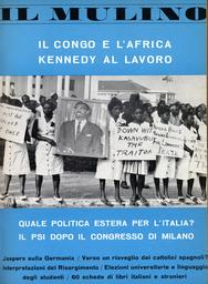 Copertina del fascicolo dell'articolo Il Congo da Bismarck ad Hammarskjoeld