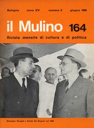 Copertina del fascicolo dell'articolo I fatti dell'Università di Roma