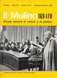 Copertina del fascicolo dell'articolo Unità sindacale e sindacato nuovo