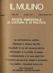 Copertina del fascicolo dell'articolo L'antipsichiatria ovvero la voce degli Iloti