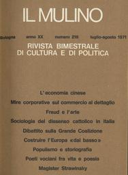 Copertina del fascicolo dell'articolo Populismo e storiografia