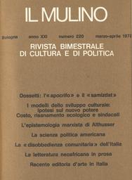 Copertina del fascicolo dell'articolo L'Italia contro se stessa, ovvero la