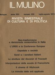 Copertina del fascicolo dell'articolo La rivincita delle arti applicate