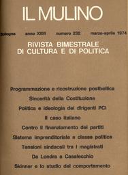 Copertina del fascicolo dell'articolo Tensioni sindacali tra i magistrati