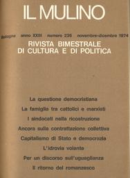 Copertina del fascicolo dell'articolo Sull'avvenire della contrattazione collettiva
