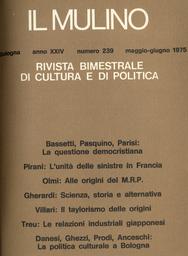 Copertina del fascicolo dell'articolo Una ricerca sui quotidiani locali