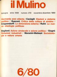 Copertina del fascicolo dell'articolo Elezioni e dinamica del sistema politico