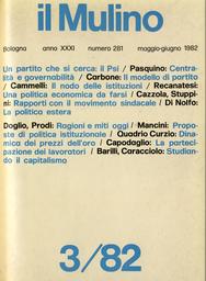 Copertina del fascicolo dell'articolo Ragione e miti oggi